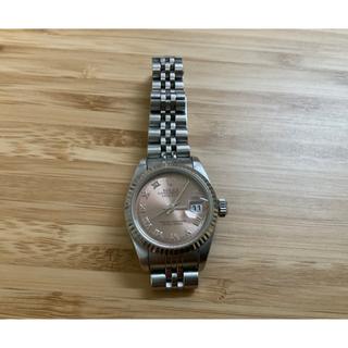 ロレックス(ROLEX)のロレックス デイトジャスト 希少 レディースサイズ 79174PBR(腕時計)