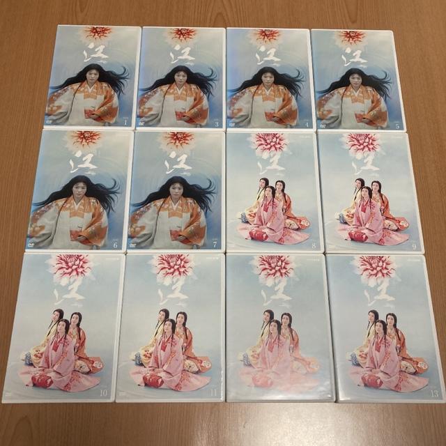 NHK大河ドラマ 江(ごう)~姫たちの戦国~ DVD  全13巻(抜けあり) エンタメ/ホビーのDVD/ブルーレイ(TVドラマ)の商品写真