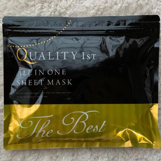 QUALITY FIRST(クオリティファースト)のクオリティー ファースト オールインワンシートマスク ベスト EXS 20枚入り コスメ/美容のスキンケア/基礎化粧品(パック/フェイスマスク)の商品写真