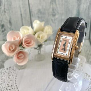 BURBERRY - 【動作OK】BURBERRY バーバリー 12100L 腕時計 レクタンギュラ