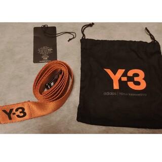 ワイスリー(Y-3)の【人気のLサイズ】y-3  logo belt ワイスリー ロゴベルト(ベルト)