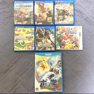 ニンテンドー3DS(ニンテンドー3DS)の<🌟旧機種🌟>任天堂他ソフト全7種類まとめ売り(家庭用ゲームソフト)