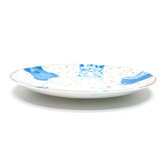 Hermes(エルメス)の未使用 エルメス ベビーギフト アニマル パスパス 食器3点セット ホワイト インテリア/住まい/日用品のキッチン/食器(食器)の商品写真