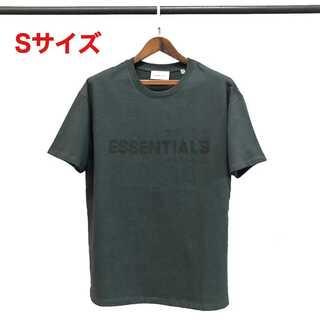 ESSENTIALS ロゴ Tシャツ ブラック Sサイズ FOG