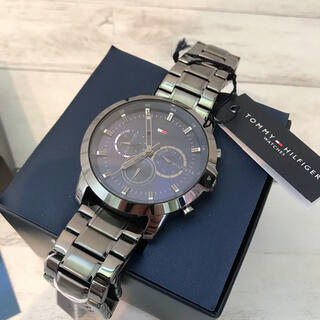 TOMMY HILFIGER - 【海外限定】トミーヒルフィガー メンズ クォーツ 腕時計 箱付き プレゼント