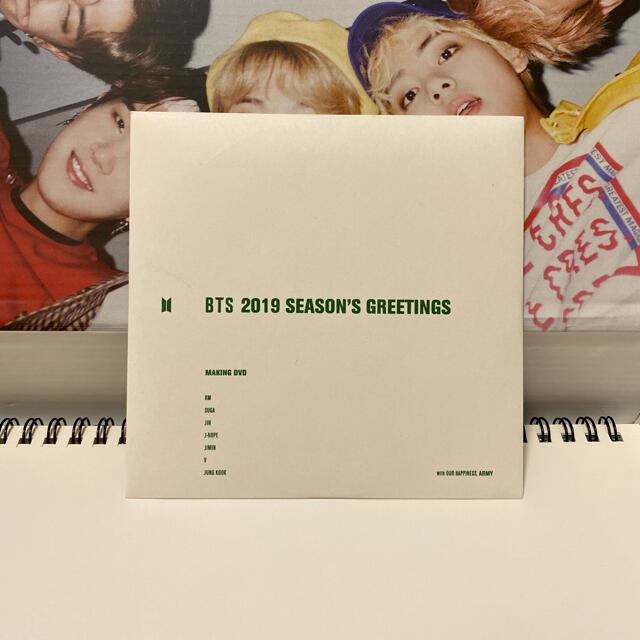 防弾少年団(BTS)(ボウダンショウネンダン)のBTS 2019 シーズングリーティング DVD エンタメ/ホビーのCD(K-POP/アジア)の商品写真