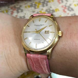 インターナショナルウォッチカンパニー(IWC)のIWC/オールドインター Cal.8531 K18/750 金無垢 自動巻き(腕時計(アナログ))