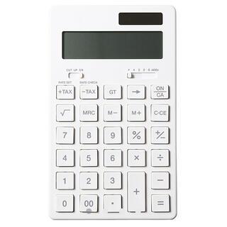 ムジルシリョウヒン(MUJI (無印良品))の無印良品 電卓 12桁(KK-1154MS)(オフィス用品一般)