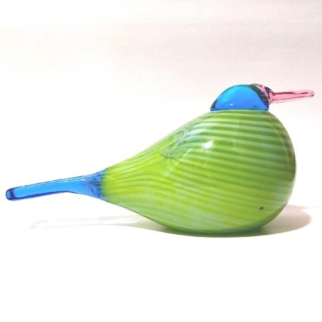 iittala(イッタラ)のRainbow Bird レインボーバード Oiva Toikka イッタラ インテリア/住まい/日用品のインテリア小物(置物)の商品写真