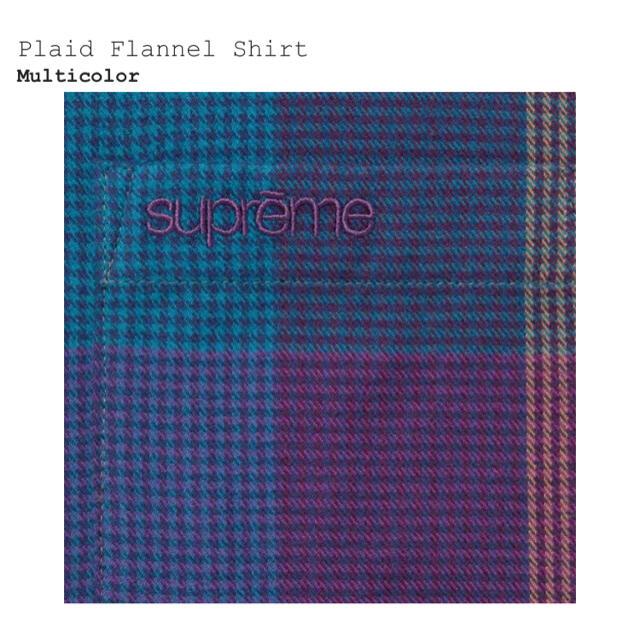 Supreme(シュプリーム)のsupreme 21aw Plaid Flannel Shirt S ネルシャツ メンズのトップス(シャツ)の商品写真