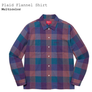 Supreme - supreme 21aw Plaid Flannel Shirt S ネルシャツ