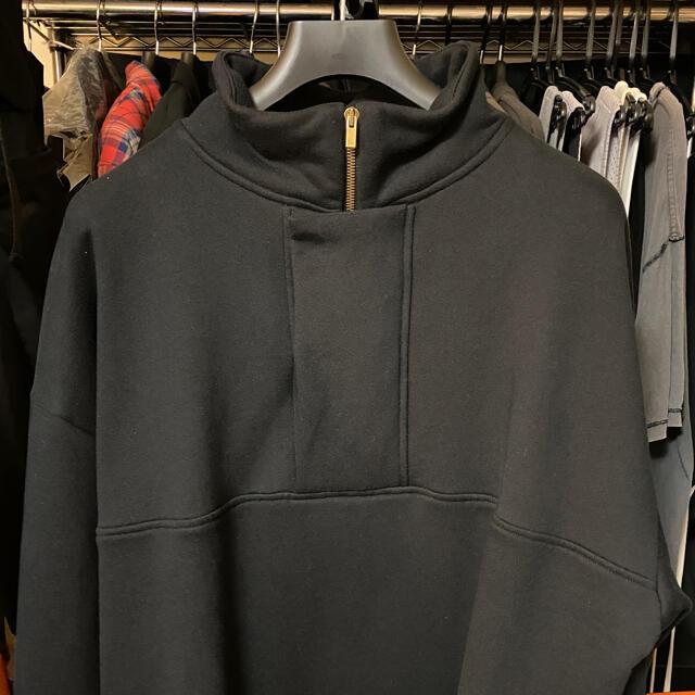 FEAR OF GOD(フィアオブゴッド)のFEAR OF GOD 7th Brushed Pullover ブラック M メンズのトップス(パーカー)の商品写真