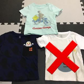 グラニフ(Design Tshirts Store graniph)の最終値下げ‼️グラニフ 100サイズ 人気Tシャツ 3枚セット(Tシャツ/カットソー)