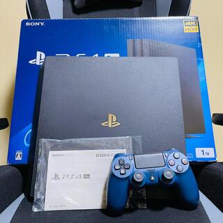 PlayStation4 - PS4 PRO 7100B ジェットブラック1TB