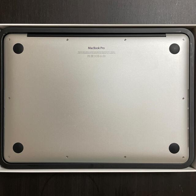Mac (Apple)(マック)のMacBook Pro ME865J/A Retina 13インチ シルバー スマホ/家電/カメラのPC/タブレット(ノートPC)の商品写真