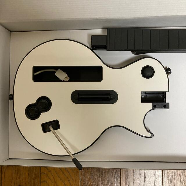 Wii(ウィー)のギターヒーロー3 美品 Wiiレスポールコントローラーのみ エンタメ/ホビーのゲームソフト/ゲーム機本体(家庭用ゲームソフト)の商品写真