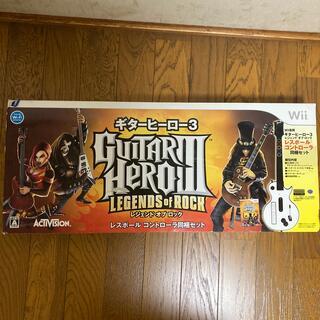 Wii - ギターヒーロー3 レジェンド オブ ロック Wiiレスポールコントローラーのみ