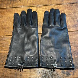 エルメス(Hermes)のエルメス レザーグローブ(手袋)