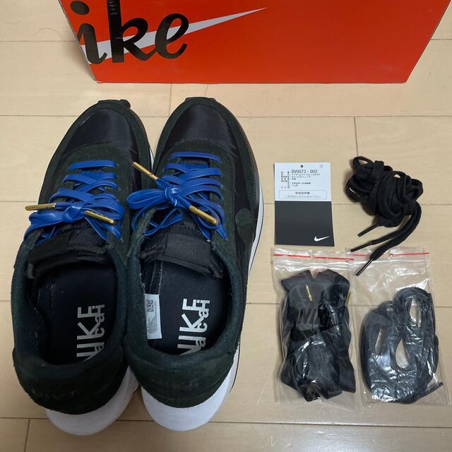 NIKE(ナイキ)のNike sacai LDwaffle black メンズの靴/シューズ(スニーカー)の商品写真