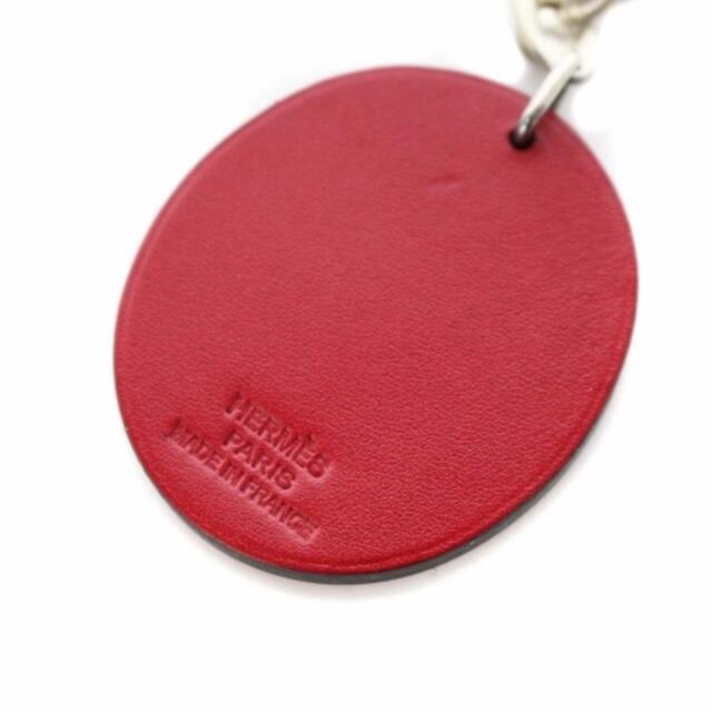 Hermes(エルメス)のエルメス キーホルダー てんとう虫 レザー SVR925 赤 レッド 黒 メンズのファッション小物(その他)の商品写真