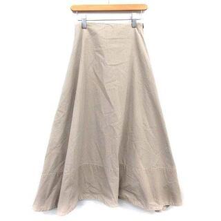 マディソンブルー(MADISONBLUE)のマディソンブルー MADISONBLUE スカート ロング 01  グレージュ(ロングスカート)