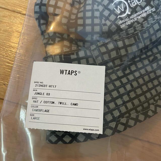 W)taps(ダブルタップス)のJUNGLE 03 / HAT / COTTON. TWILL. CAMO 新品 メンズの帽子(ハット)の商品写真