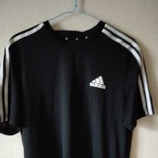 adidas - アディダス Tシャツ ブラック L