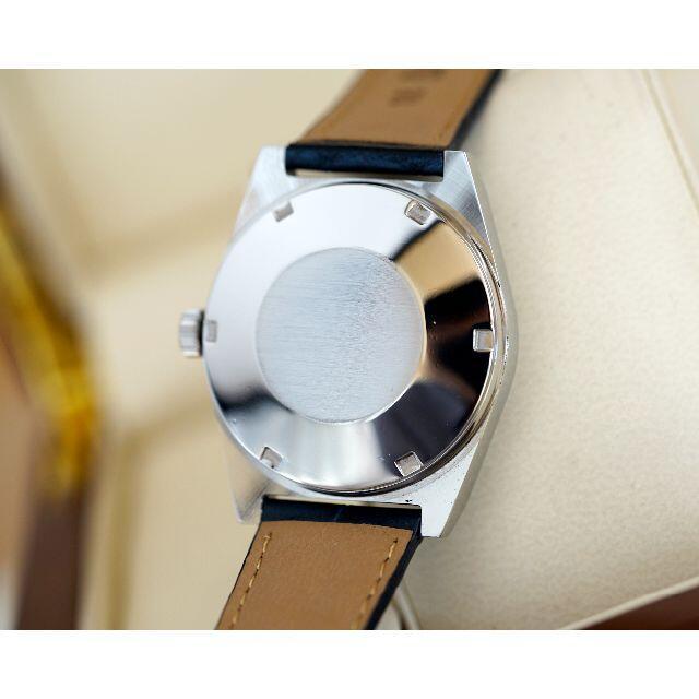 OMEGA(オメガ)の美品 オメガ ジュネーブ シルバー デイト オートマティック メンズ Omega メンズの時計(腕時計(アナログ))の商品写真