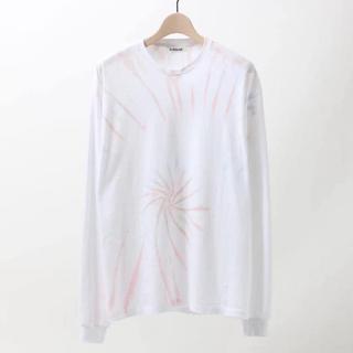 コモリ(COMOLI)のauralee seamless tiedye l/s tee カットソー(Tシャツ/カットソー(七分/長袖))