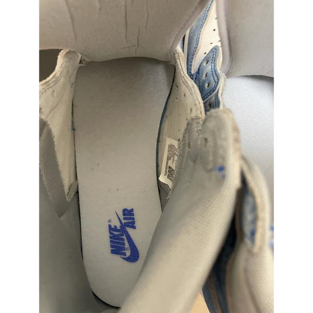 """NIKE(ナイキ)のおまけ付き ナイキ エアジョーダン1 ハイ OG """"ハイパーロイヤル"""" メンズの靴/シューズ(スニーカー)の商品写真"""