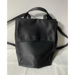 サザビー(SAZABY)のサザビーsazabyバッグパックリュクサック鞄黒ブラックレディース(リュック/バックパック)
