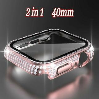 Apple Watch CZ保護カバー ケース バンド ベルト 38/40mm