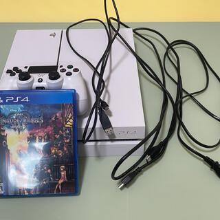 PlayStation4 - プレステ4本体+キングダムハーツ3