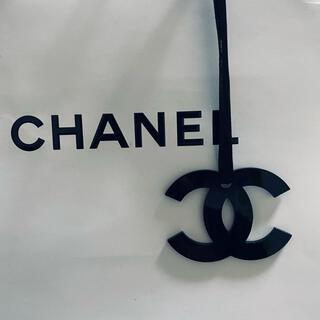 CHANEL - 大きいブラック 単品 シャネルノベルティー ショッバーチャーム