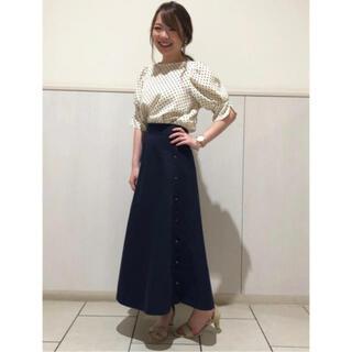エージーバイアクアガール(AG by aquagirl)のエージーバイアクアガール サイドボタンスカート(ロングスカート)