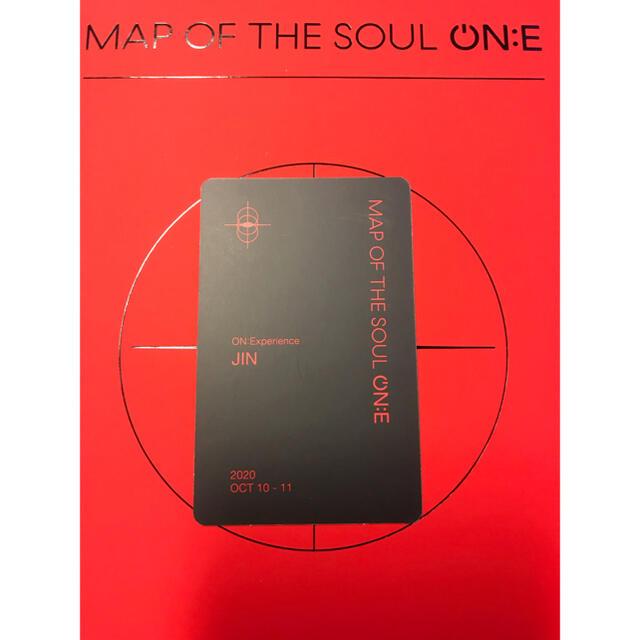 防弾少年団(BTS)(ボウダンショウネンダン)のBTS MAP OF THE SOUL ONE JIN トレカのみ オマケ付き エンタメ/ホビーのCD(K-POP/アジア)の商品写真