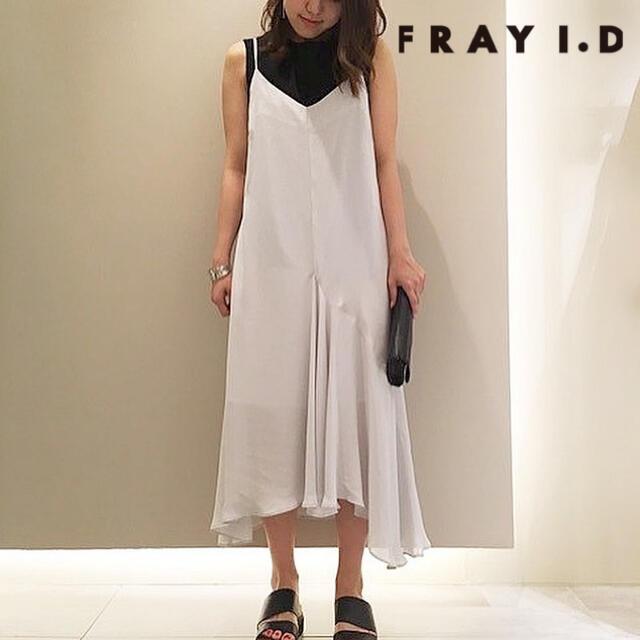 FRAY I.D(フレイアイディー)のFRAY I.D フレイアイディー キャミフレアーワンピース レディースのワンピース(ロングワンピース/マキシワンピース)の商品写真