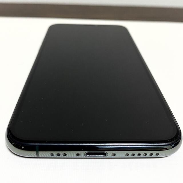 iPhone(アイフォーン)のiPhone 11Pro 256GB Simフリー ミッドナイトグリーン スマホ/家電/カメラのスマートフォン/携帯電話(スマートフォン本体)の商品写真