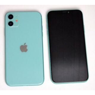 iPhone 11 グリーン 模型 展示用 モック モックアップ サンプル(その他)
