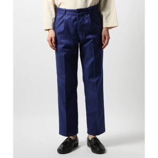 コモリ(COMOLI)の 【LE / エルイー】FRENCH WORK PANTS size 1(スラックス)