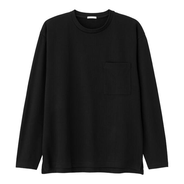GU ポンチクルーネックT メンズのトップス(Tシャツ/カットソー(半袖/袖なし))の商品写真