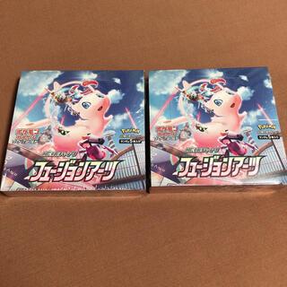 ポケモン - ポケモンカードゲーム ソード&シールド フュージョンアーツ 2BOX