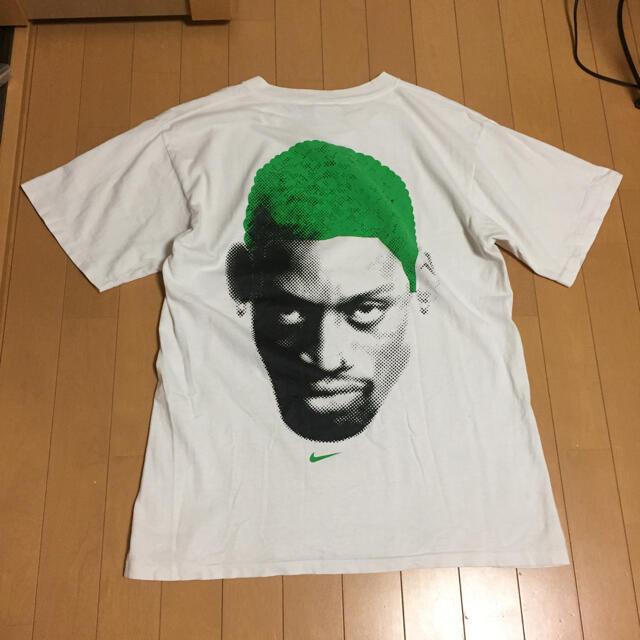 NIKE(ナイキ)のnike デニスロッドマン tシャツ L XL メンズのトップス(Tシャツ/カットソー(半袖/袖なし))の商品写真