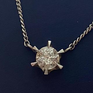プラチナ ダイヤモンド 0.4ct ネックレス