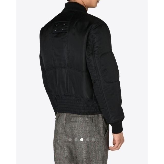Maison Martin Margiela(マルタンマルジェラ)の美品 メゾンマルジェラのMA1 メンズのジャケット/アウター(ブルゾン)の商品写真