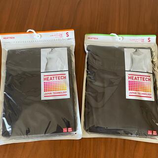 UNIQLO - 新品未開封2枚★ユニクロ ヒートテック 8部袖 Sサイズ ブラック 黒