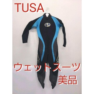 ツサ(TUSA)の美品 TUSA ウェットスーツ ツサ スキューバダイビング シュノーケリング(マリン/スイミング)