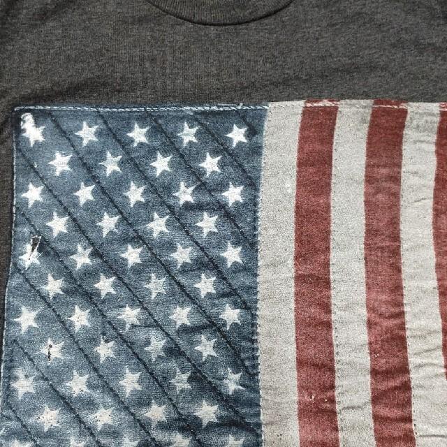WELL WORN  TシャツSサイズ アメリカ星条旗国旗 メンズのトップス(Tシャツ/カットソー(半袖/袖なし))の商品写真