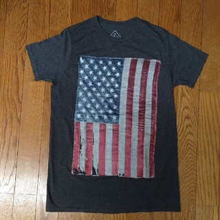 WELL WORN  TシャツSサイズ アメリカ星条旗国旗