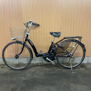 ヤマハ - 電動自転車 YAMAHA ラフィーニ 26インチ 黒 格安 バッテリー2つ付き